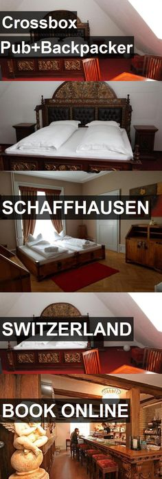 Hotel Crossbox Pub Backpacker in Schaffhausen, Switzerland. For more information, photos, reviews and best prices please follow the link. #Switzerland #Schaffhausen #travel #vacation #hotel