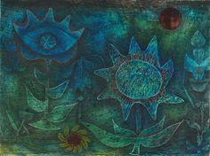 Paul Klee (German, b. Switzerland. 1879–1940), Blossoms in the Night, 1930.