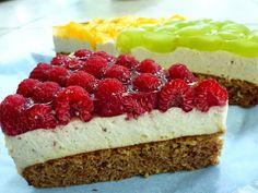 Gyümölcsös túró torta (paleo változat)