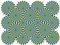 Snake Optical illusion