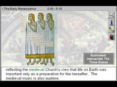 The Early Renaissance (The Renaissance Part 1) - http://www.zaneeducation.com - The Early Renaissance is Part 1 of The Renaissance - Gain insight to the humanist spirit of the Renaissance, a momentous era that witnessed the development of the chorus, madrigals, and portraiture; the rediscovery of classical antiquity; and the exploration of new forms and techniques, such as painting with oils and four-part polyphony. Observe how the art and...