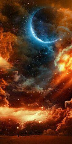 Le ciel peut être si beau et si complexe
