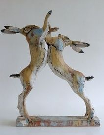 Hares by Nichola Theaston