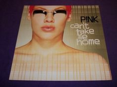 """Pink - Can't Take Me Home - Rare 2000 Promo Poster 12"""" x 12"""" LaFace Records"""