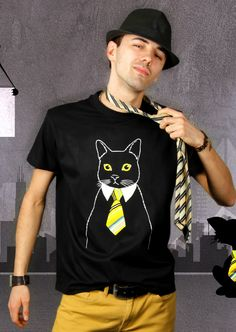 The Business Cat T-Shirt | Design Klaus, Nantes $19.95