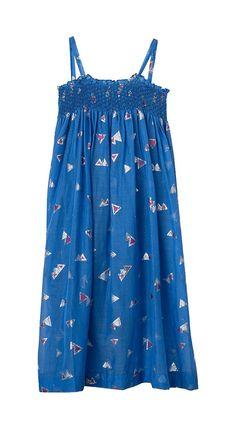 Semsem Big Girls' Jamila Long Dress   Pyramid jacquard smocked long dress with grosgrain and gold snap detail Read  more http://shopkids.ca/semsem-big-girls-jamila-long-dress/