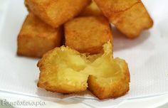 Mandioca Frita Cremosa ~ PANELATERAPIA - Blog de Culinária, Gastronomia e Receitas