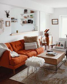9 best orange living room furniture images in 2014 living room rh pinterest com