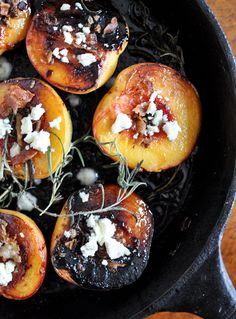 Brown Sugar Roasted Peaches