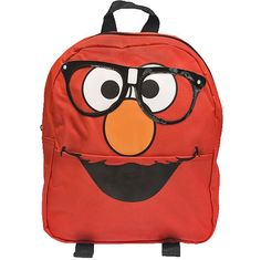 Elmo backpack.