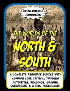 This is a comprehensive bundle loaded with new, Common Core activities that are guided by key concepts for Social Science. This Civil War packet has vigor and fun with tons of Common Core options. Teachers can pick and choose from a bundle packed full of notes formats, Common Core readings and worksheets, projects and activities that fit your needs and teaching style the best.