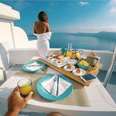 Breakfast in style