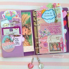 ⛅️i like the summer rain☔️#filofax #planner #agenda #journal #diary