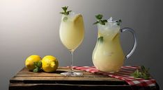 Cocktail Drinks, Cocktail Recipes, Cocktails, Diy Bar, Limoncello, Gin And Tonic, Apple Cider, Holiday Recipes, Smoothies