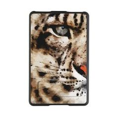 Snow Leopard Kindle Kickstand Case OMG if I had a Kindle I would 100% ( if, of course, possible,) GET THIS EPIC CASE!!! :D