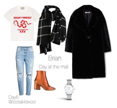 Day6 at the mall by tootall4skool on Polyvore featuring polyvore fashion style Gucci MANGO H&M Salvatore Ferragamo ROSEFIELD clothing