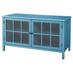 OMG this is exactly the piece I need to finish my living room! Threshold™ Windham Media Cabinet Stands