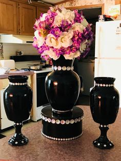 healthy meals for dinner easy meals ideas free Glass Centerpieces, Wedding Centerpieces, Wedding Decorations, Centerpiece Decorations, Vases, Dollar Tree Decor, Dollar Tree Crafts, Craft Wedding, Tree Wedding