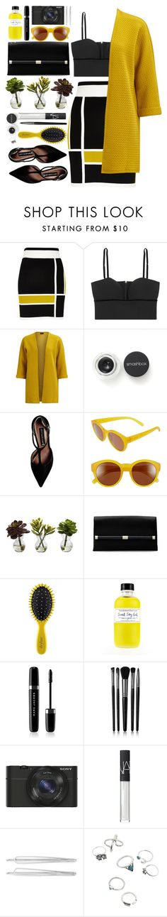 #975 Lucille by blueberrylexie on Polyvore featuring moda, VILA, Alexander McQueen, River Island, Steve Madden, Diane Von Furstenberg, Zeal Optics, Sony, Cara and NARS Cosmetics
