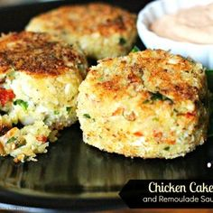 Chicken Cakes And Remoulade Sauce - melissassouthernstylekitchen.com