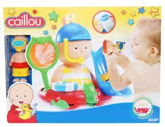 [OVER] Caillou Bathtime Activity Toy Review + Giveaway. Giveaway ends June 06, 2013 at 11:59pm EST.