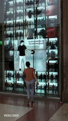 Interactive Installations showcase at the Milano Duomo store. Including Kaleidoscope, Dress Up!, Elastic Mirror, Unravel, Product Pool, Video Grid, Ripple and TimeLoop.  Read more here: http://uri.cat/projects/benetton-windows-interaction/  Original footage recorded by James Grant. Music by Amon Tobin (NightLife)