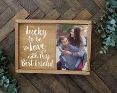 This rustic framed photo holder is a perfect gift for a boyfriend, girlfriend, wife, or husband. A wonderful rustic decoration that is a great gift or addition to your home. ITEM DETAILS: 7 x 10 Rusti