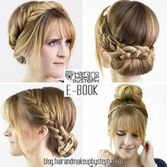 23 hair tutorials for $10. blog.hairandmakeupbysteph.com.