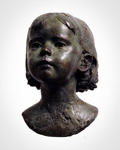'Alianne'.  Life-size.  Bronze.  by Mark Richards FRBS