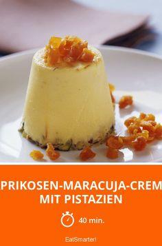 Aprikosen-Maracuja-Creme mit Pistazien - smarter - Zeit: 40 Min.   eatsmarter.de