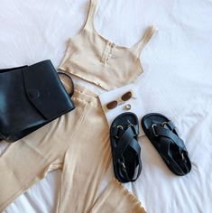 Skirt Outfits, Cute Outfits, Flats Outfit, Sabo Skirt, Miu Miu Ballet Flats, Athleisure, Get The Look, Spring Fashion, Cotton Fabric