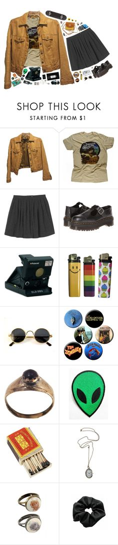 """""""we're only temporary"""" by xambergurlx ❤ liked on Polyvore featuring Gap, Retrò, Monki, Dr. Martens, Polaroid, Burberry, TEN, Rock 'N Rose and vintage"""