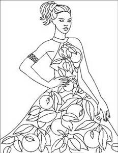 fashion coloring pages - Bing Images