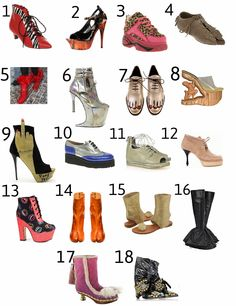 VOTE for the ugliest shoes of all time