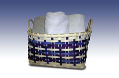 *Handy Towel Basket - Bases to Weave free pattern