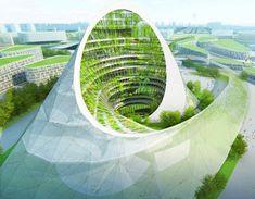 """Proyecto para la Expo Mundial de """"El Futuro de la Energía"""" en 2017, en Astana, Kazakhstan"""