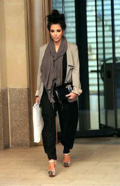 Kim Kardashian - Fashion Friday: Harem Heaven. This actually looks very comfortable. I want this