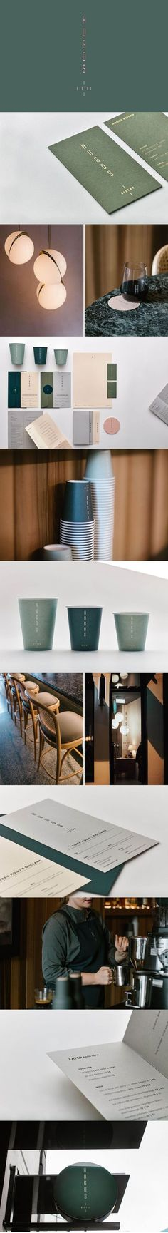 Hugo's Bistro    Branding and collateral for an all-day bistro in Auckland's bustling cityscape.
