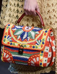 Dolce & Gabanna crochet designs for Spring/Summer 2013 via mypicot.com/club/#