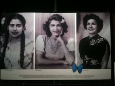 The Mirabal sisters-symbols of defiant hope. They sacrificed their safe and comfortable lives in the name of freedom.
