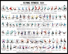 yoga swing pose poster