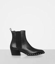 Womens Ellis Chelsea Boot (Black) - product_image_alt_text_1