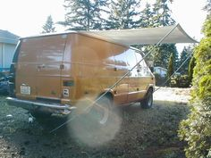 Easy $50 U=Build-It Van Awning | Generic How To ..... | Vannin' Community and Forums
