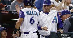 Polanco's HR thwarts Greinke no-hit bid, Arizona wins 2-1 (May 11, 2017) #Sport #iNewsPhoto