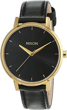 8f9ead296 New Nixon Women's Quartz Watch Analogue Display and Leather Strap  A108513-00. Watches [