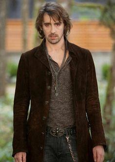 Lee Pace as Garret in Breaking Dawn...best man in the movie.