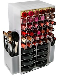 Acrylic makeup organizers on pinterest makeup for Case container 974