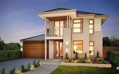 Metricon Home Designs: The Duxton - Metro Facade. Visit www.localbuilders.com.au/builders_nsw.htm to find your ideal home design in New South Wales