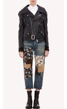 Junya Watanabe Deconstructed Biker Jacket, select by Zoë Kravitz, actress and Barneys New York Influencer.