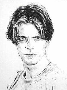 David Bowie as Thomas Jerome Newton on the set of Nicholas Roeg's 'The Man Who…